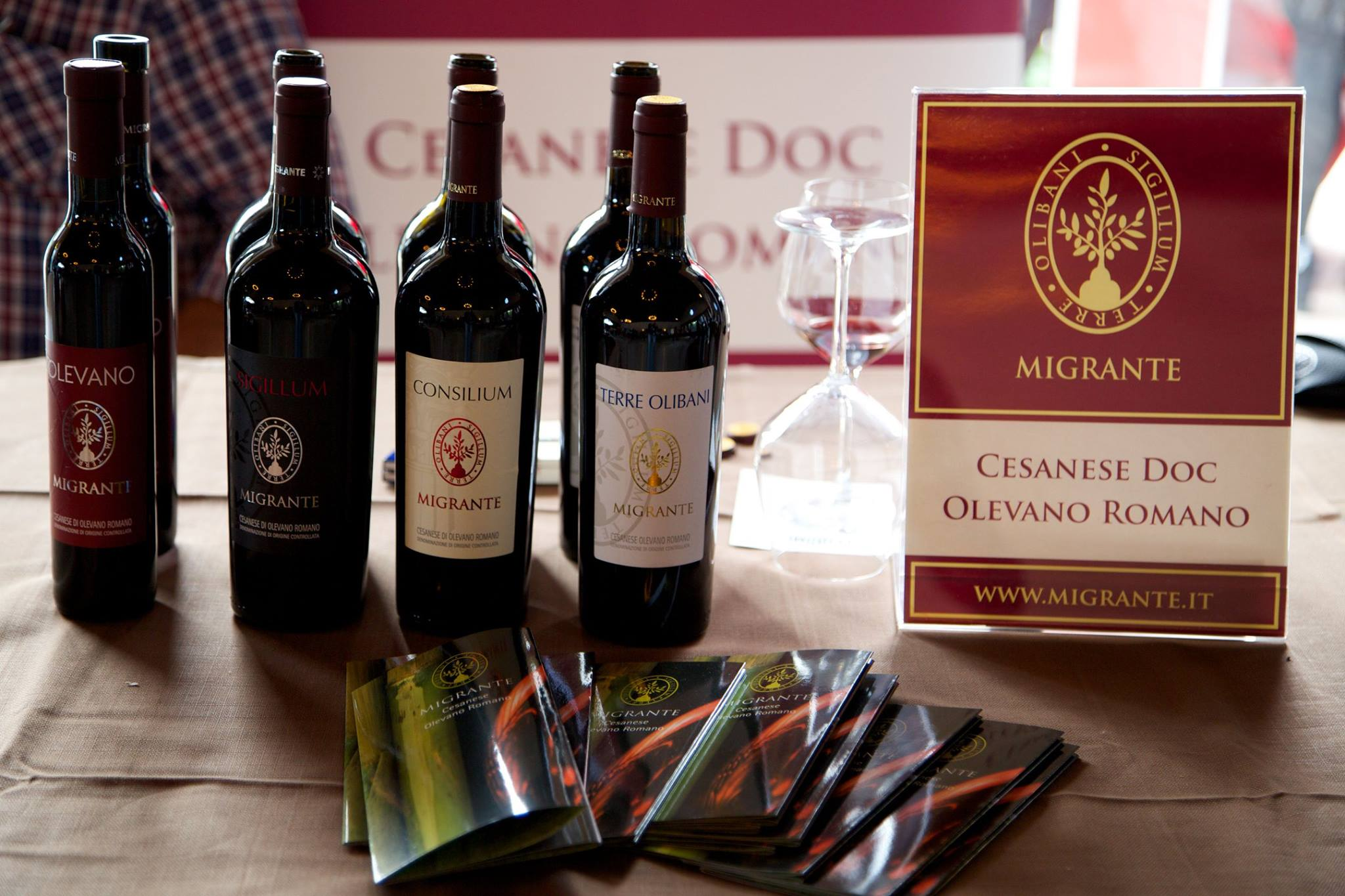 I nostri vini - Azienda Agricola Migrante - Cesanese di Olevano Romano